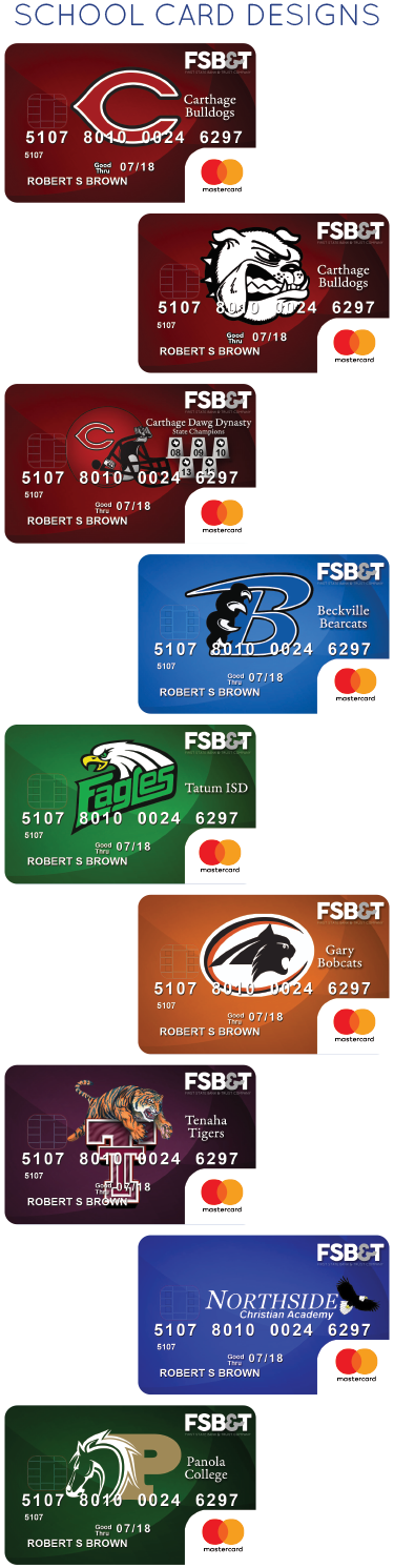 Debit Cards › First State Bank & Trust Company Carthage